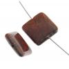 Breciated Jasper 18mm Square 9Pcs Approx